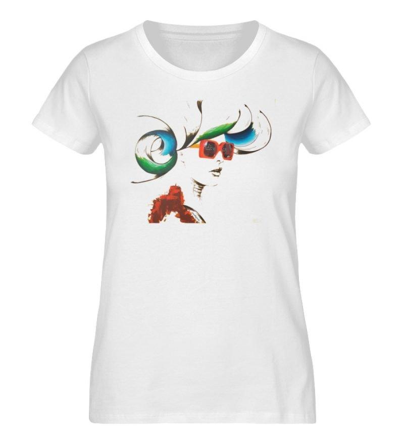 """Whirling Thoughts"" von Annika Juds - Damen Premium Organic Shirt-3"