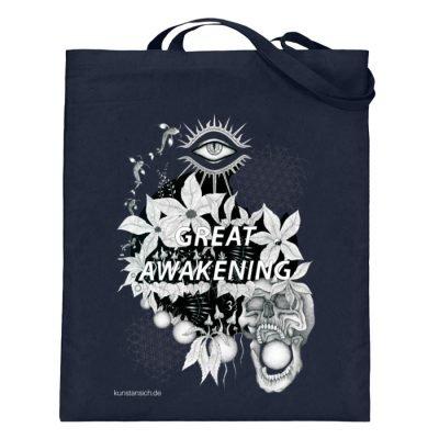 """""""Great awakening"""" von Third Eye Collecti - Jutebeutel (mit langen Henkeln)-5743"""