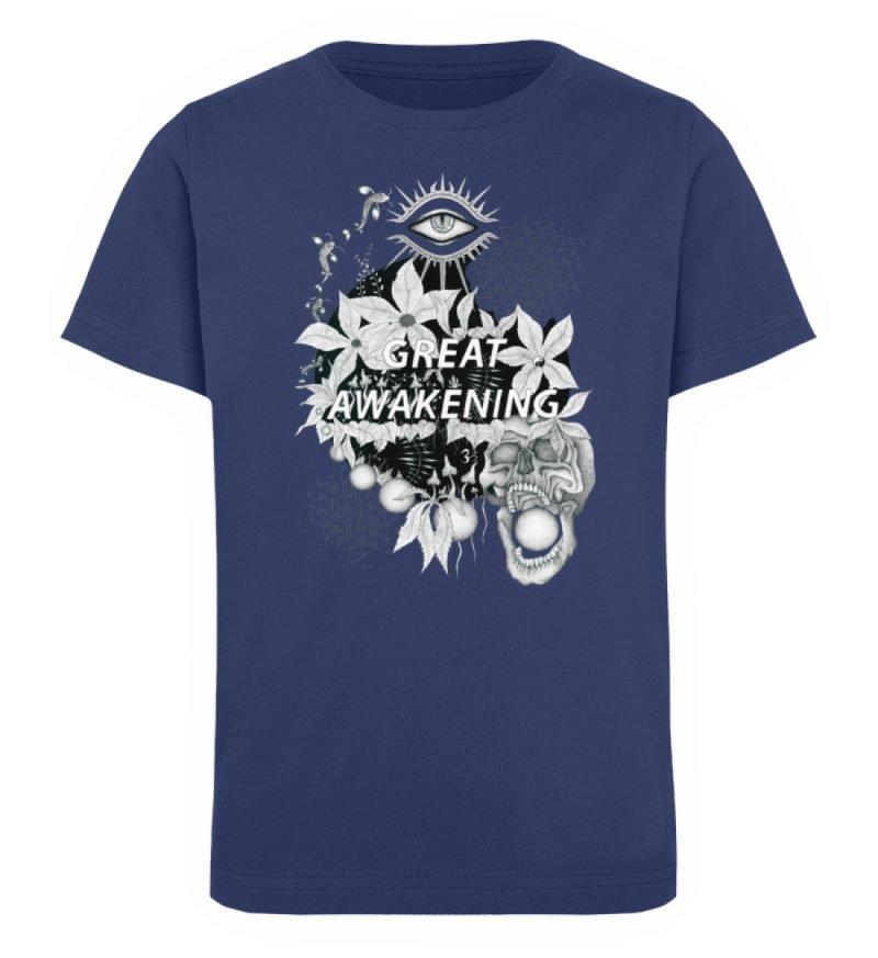 """""""Great awakening"""" von Third Eye Collecti - Kinder Organic T-Shirt-6057"""