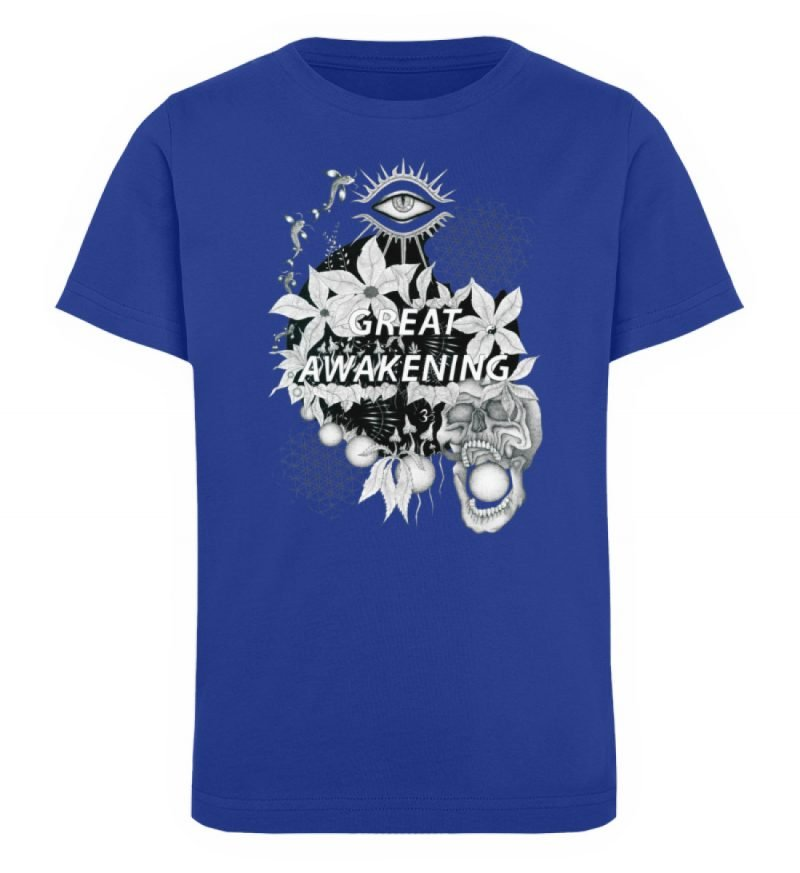 """""""Great awakening"""" von Third Eye Collecti - Kinder Organic T-Shirt-668"""