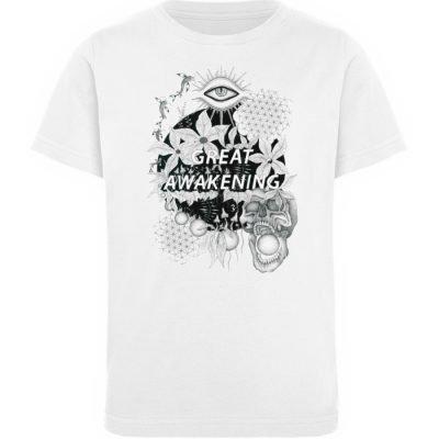 """""""Great awakening"""" von Third Eye Collecti - Kinder Organic T-Shirt-3"""