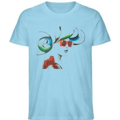 """Whirling Thoughts"" von Annika Juds - Herren Premium Organic Shirt-674"