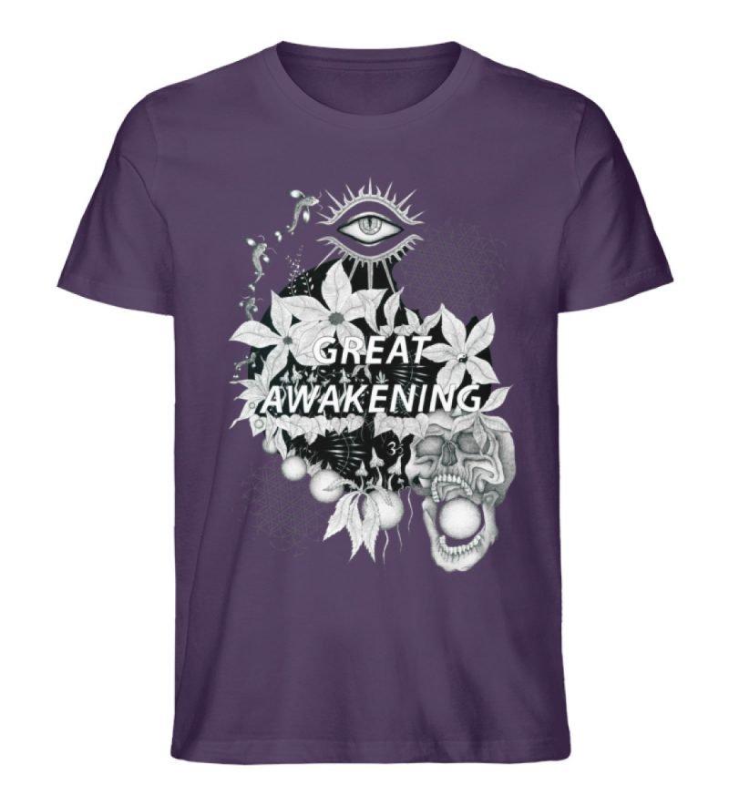 """Great awakening"" von Third Eye Collecti - Herren Premium Organic Shirt-6876"