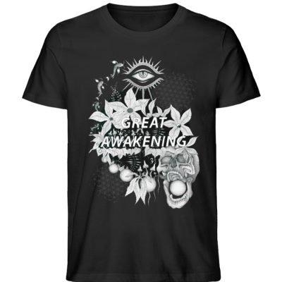 """Great awakening"" von Third Eye Collecti - Herren Premium Organic Shirt-16"