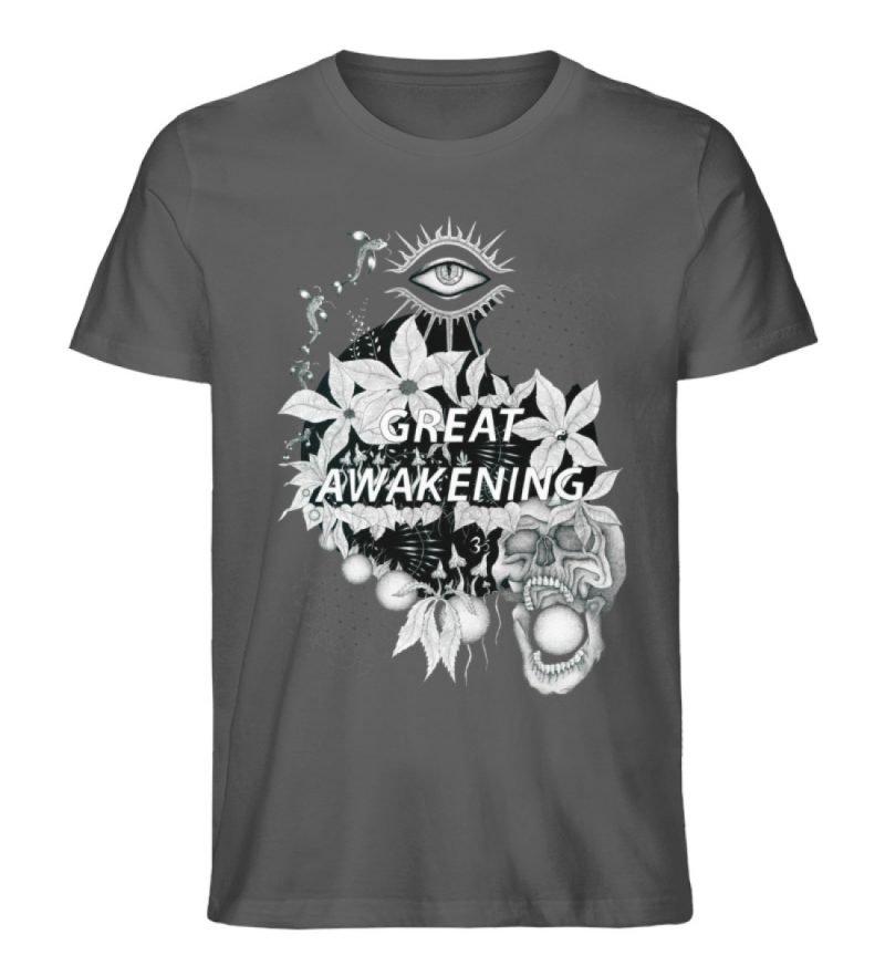 """Great awakening"" von Third Eye Collecti - Herren Premium Organic Shirt-6903"