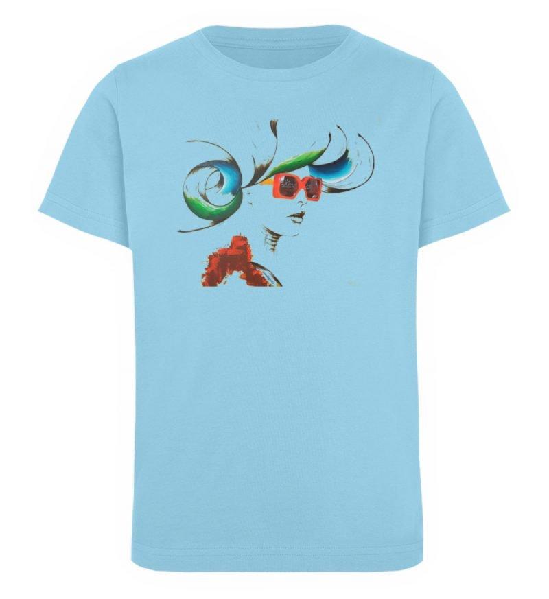 """Whirling Thoughts"" von Annika Juds - Kinder Organic T-Shirt-674"