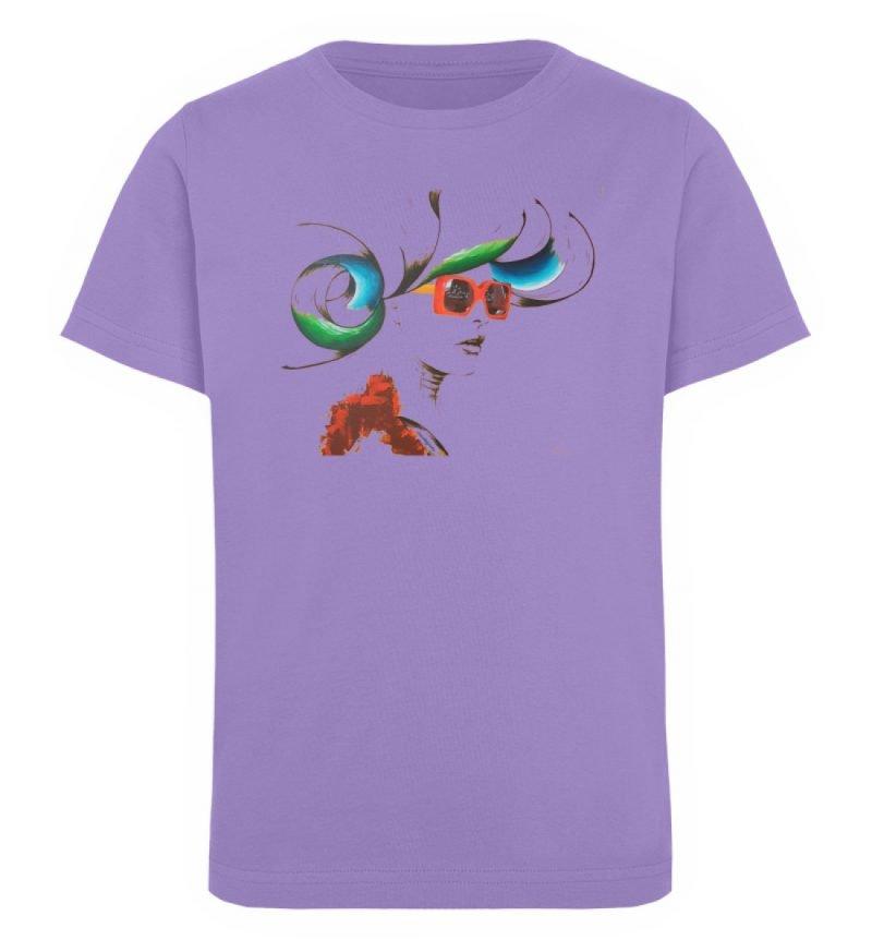 """Whirling Thoughts"" von Annika Juds - Kinder Organic T-Shirt-6884"