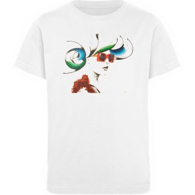 """Whirling Thoughts"" von Annika Juds - Kinder Organic T-Shirt-3"