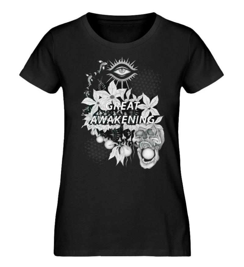 """""""Great awakening"""" von Third Eye Collecti - Damen Premium Organic Shirt-16"""