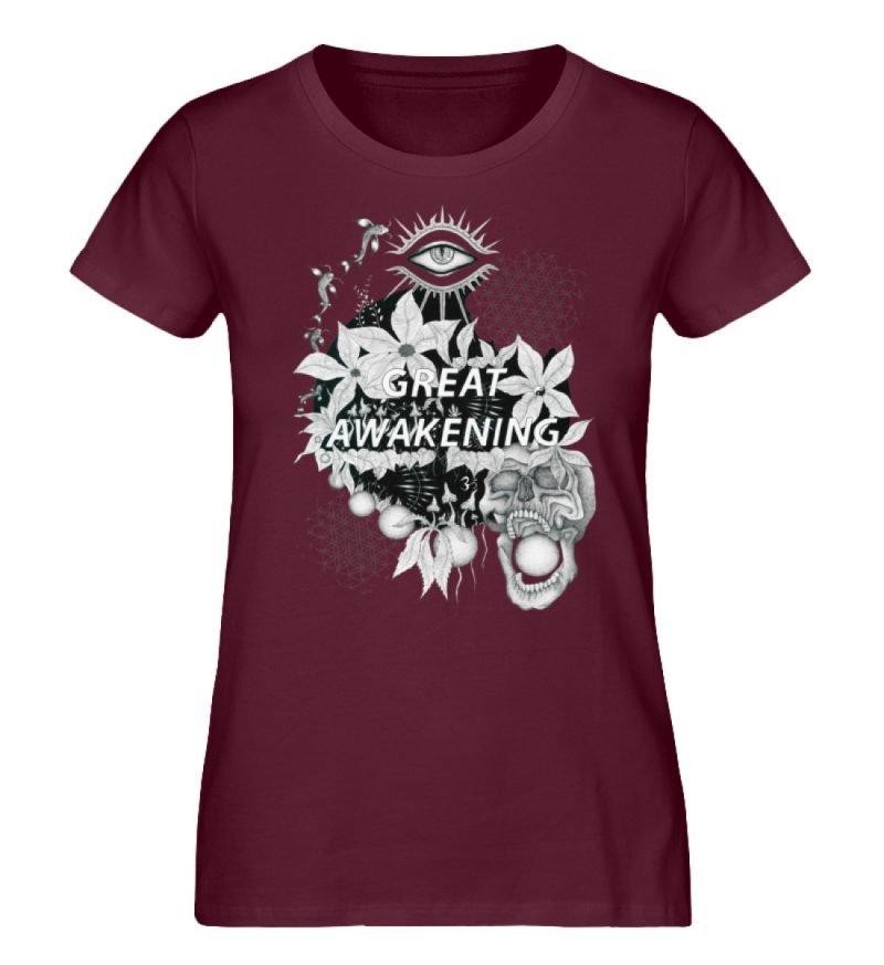 """""""Great awakening"""" von Third Eye Collecti - Damen Premium Organic Shirt-839"""