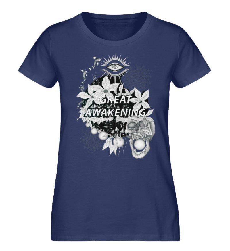 """""""Great awakening"""" von Third Eye Collecti - Damen Premium Organic Shirt-6057"""