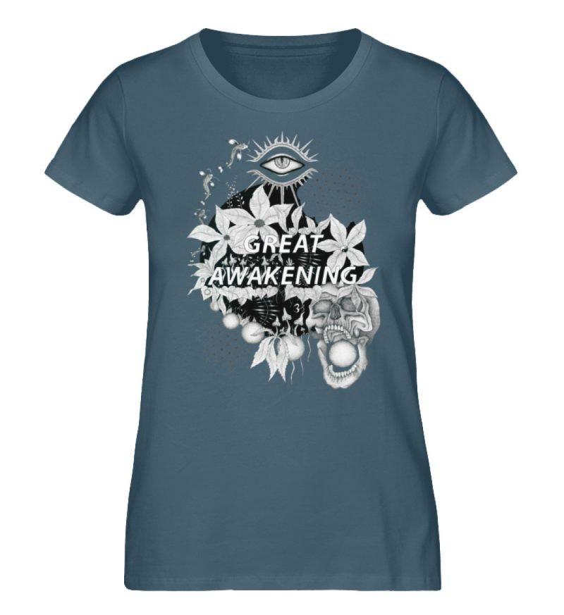 """""""Great awakening"""" von Third Eye Collecti - Damen Premium Organic Shirt-6880"""
