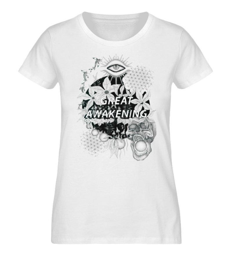"""""""Great awakening"""" von Third Eye Collecti - Damen Premium Organic Shirt-3"""