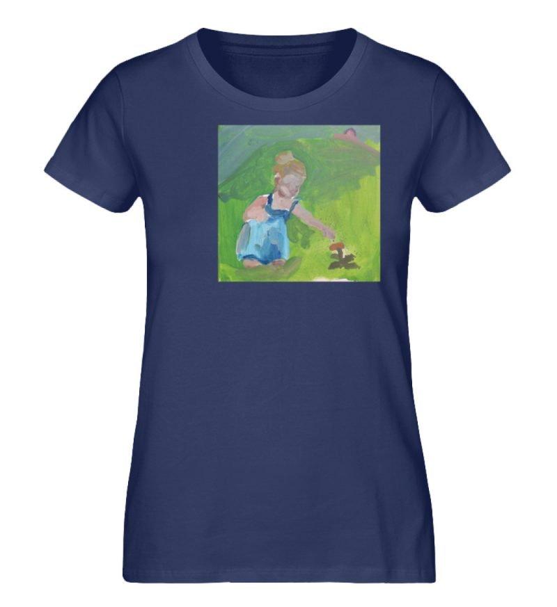 """Demut, Empathie und Behutsamkeit"""" von Sa - Damen Premium Organic Shirt-6057"""