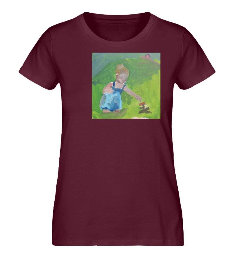 """Demut, Empathie und Behutsamkeit"""" von Sa - Damen Premium Organic Shirt-839"""