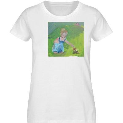 """Demut, Empathie und Behutsamkeit"""" von Sa - Damen Premium Organic Shirt-3"""