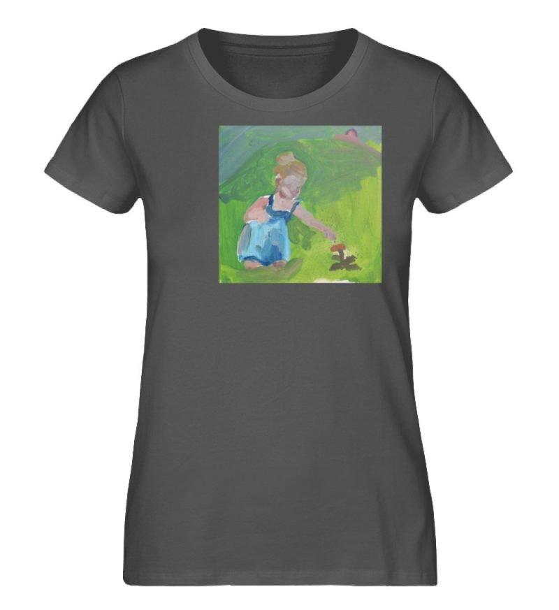 """Demut, Empathie und Behutsamkeit"""" von Sa - Damen Premium Organic Shirt-6903"""