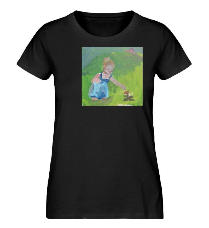 """Demut, Empathie und Behutsamkeit"""" von Sa - Damen Premium Organic Shirt-16"""
