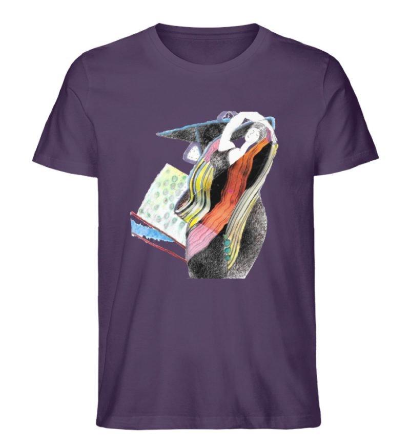 """""""Rapunzel"""" von Silke Hoffmann - Herren Premium Organic Shirt-6876"""