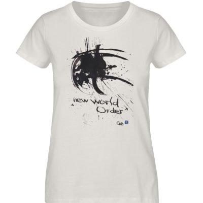 """""""new world order"""" von Otto von Kotzebue - Damen Premium Organic Shirt-6865"""