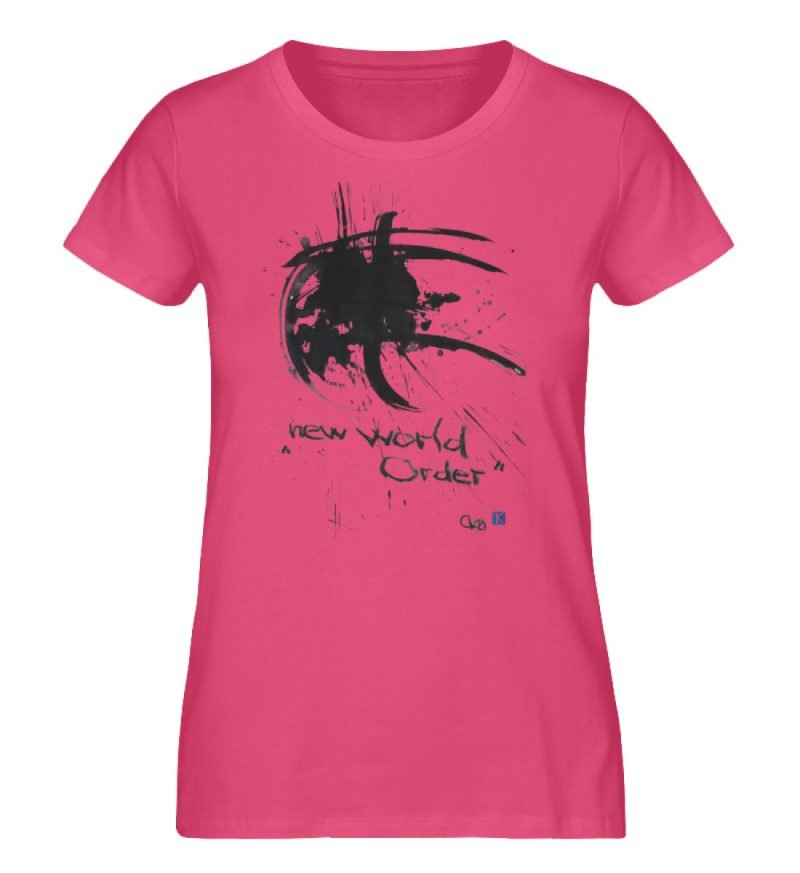 """""""new world order"""" von Otto von Kotzebue - Damen Premium Organic Shirt-6866"""