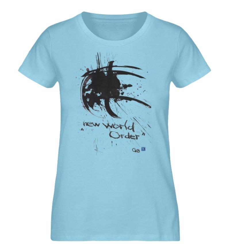 """""""new world order"""" von Otto von Kotzebue - Damen Premium Organic Shirt-674"""