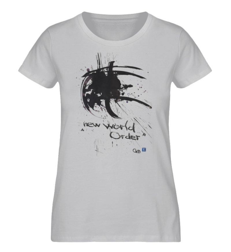 """""""new world order"""" von Otto von Kotzebue - Damen Premium Organic Shirt-17"""