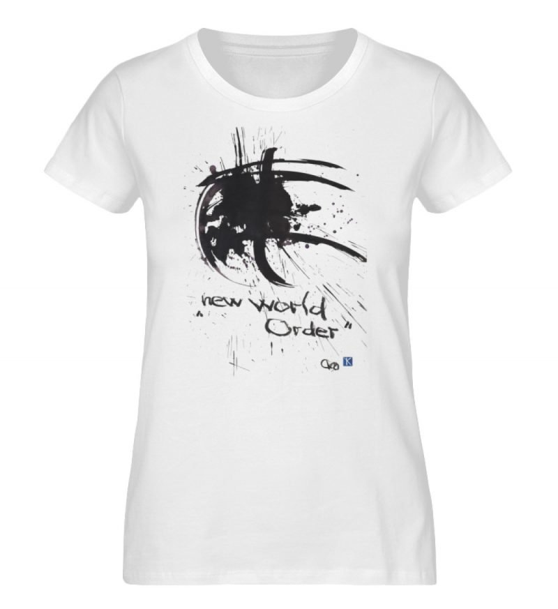 """""""new world order"""" von Otto von Kotzebue - Damen Premium Organic Shirt-3"""