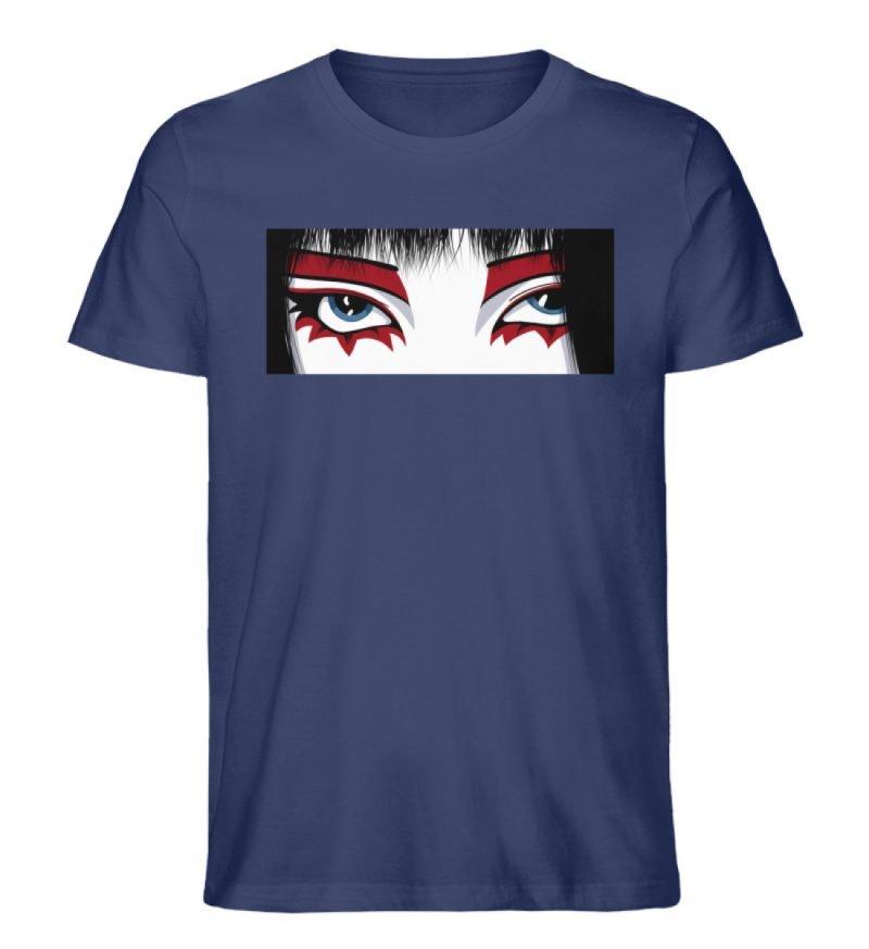 """""""Staring"""" von Third Eye Collective - Herren Premium Organic Shirt-6057"""