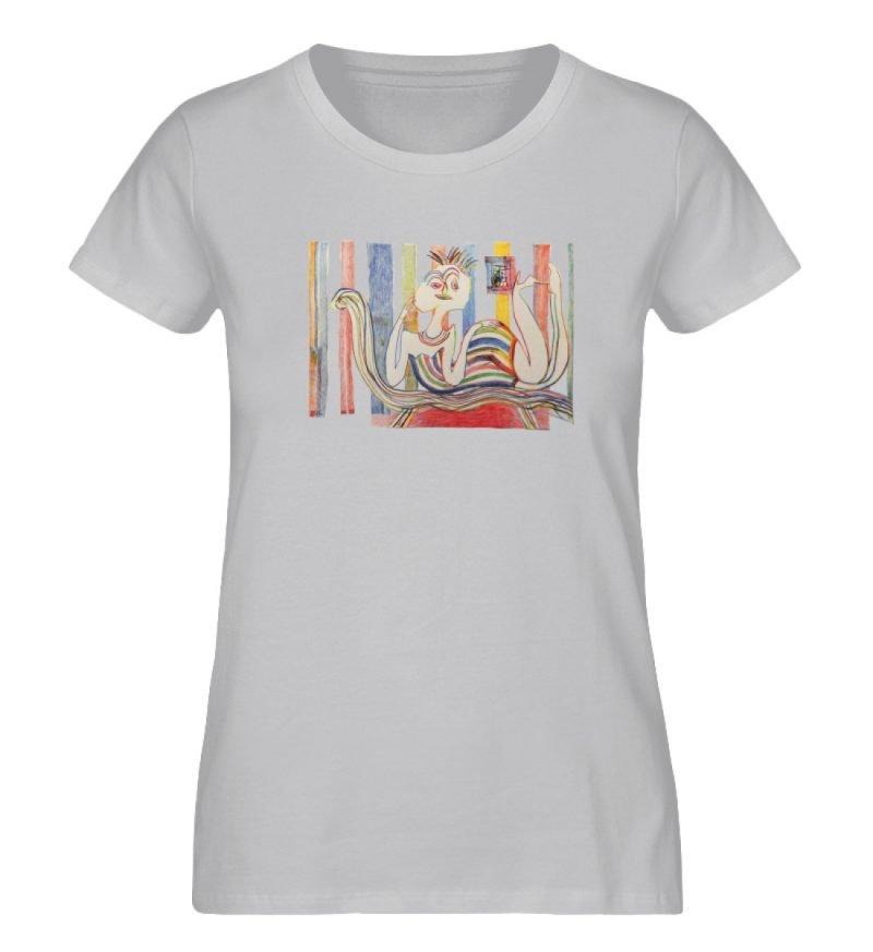 """""""Gemäßigter Müßiggang"""" von Lilith Lichte - Damen Premium Organic Shirt-17"""