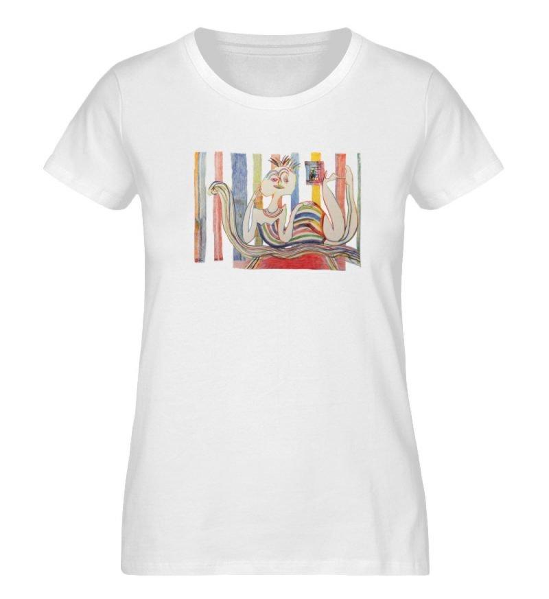 """""""Gemäßigter Müßiggang"""" von Lilith Lichte - Damen Premium Organic Shirt-3"""