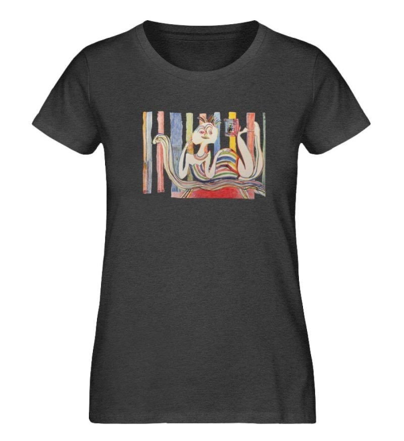 """""""Gemäßigter Müßiggang"""" von Lilith Lichte - Damen Premium Organic Shirt-6881"""
