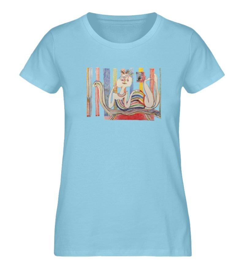 """""""Gemäßigter Müßiggang"""" von Lilith Lichte - Damen Premium Organic Shirt-674"""