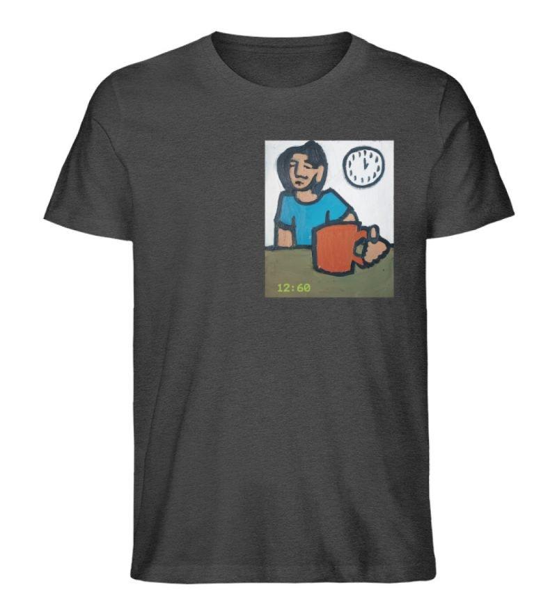 """12:60"" von Sarah Ludes - Herren Premium Organic Shirt-6881"