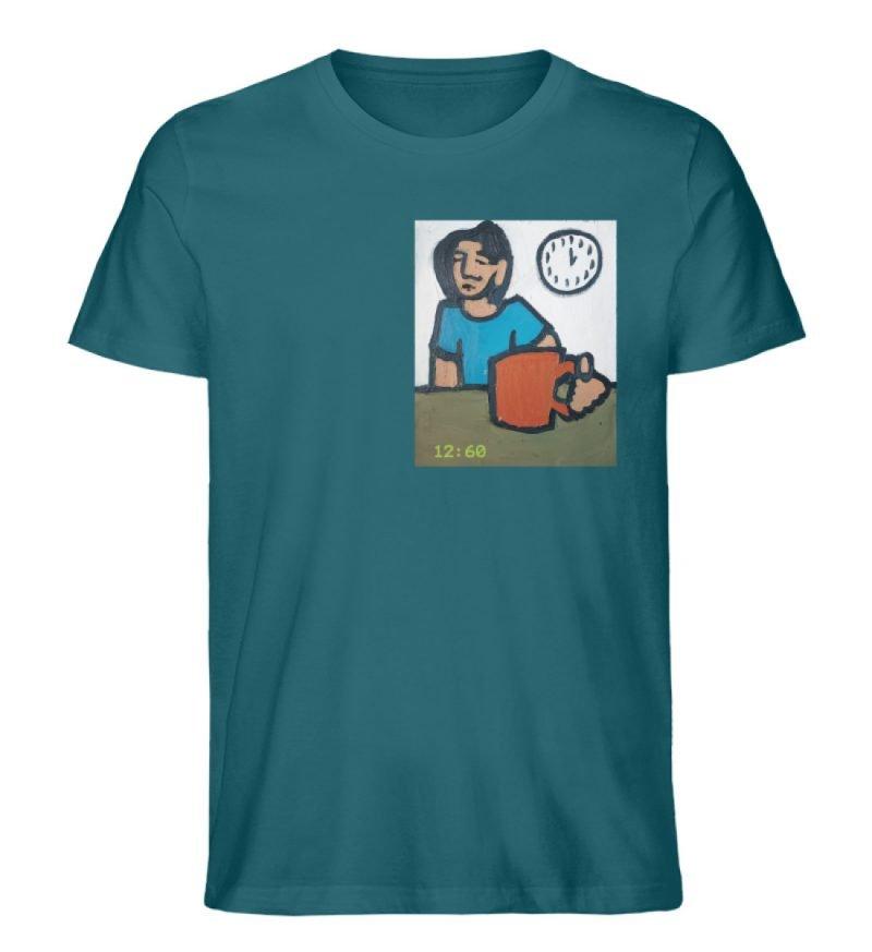 """12:60"" von Sarah Ludes - Herren Premium Organic Shirt-6878"