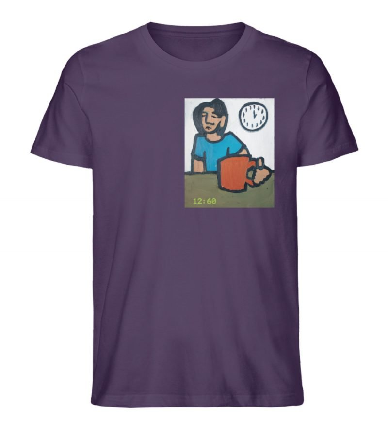 """12:60"" von Sarah Ludes - Herren Premium Organic Shirt-6876"