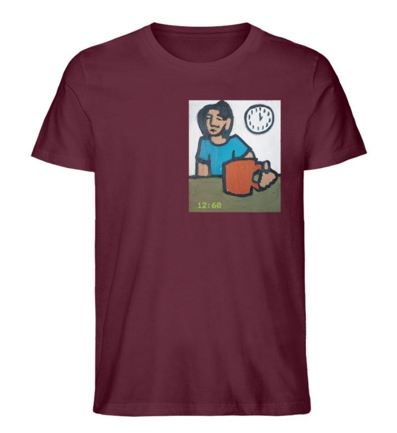"""12:60"" von Sarah Ludes - Herren Premium Organic Shirt-839"
