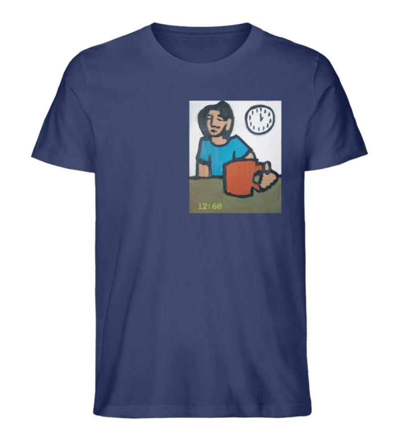 """12:60"" von Sarah Ludes - Herren Premium Organic Shirt-6057"
