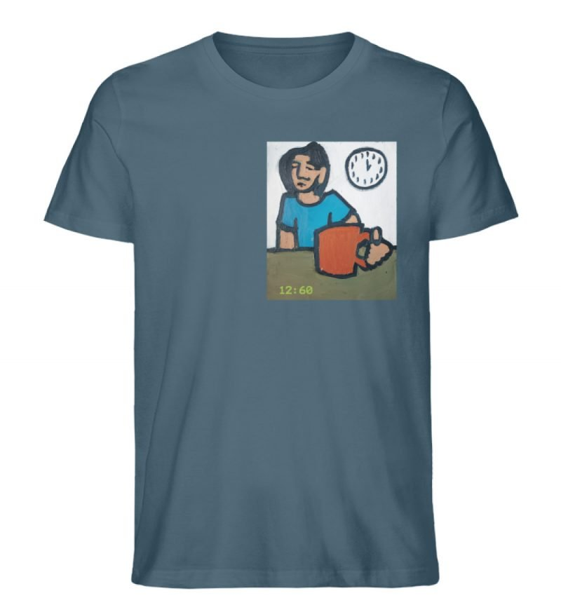 """12:60"" von Sarah Ludes - Herren Premium Organic Shirt-6880"