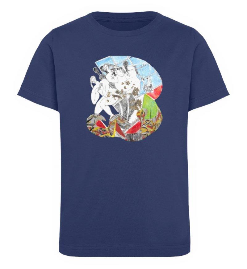 """Körperpflege"" von Silke Hoffmann - Kinder Organic T-Shirt-6057"