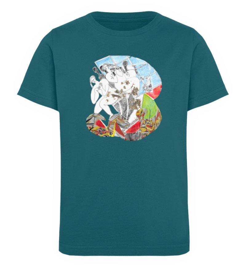 """Körperpflege"" von Silke Hoffmann - Kinder Organic T-Shirt-6878"