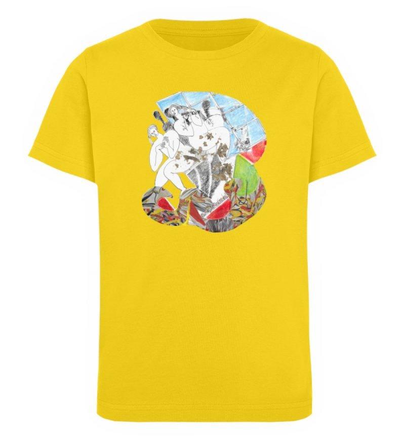 """Körperpflege"" von Silke Hoffmann - Kinder Organic T-Shirt-6885"