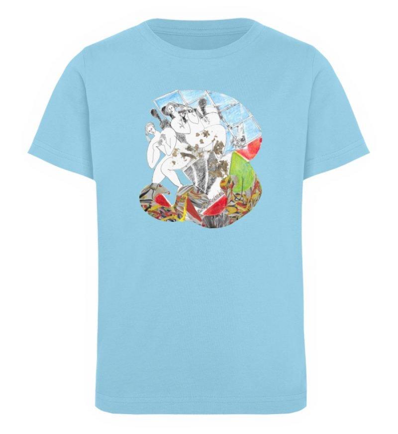 """Körperpflege"" von Silke Hoffmann - Kinder Organic T-Shirt-674"