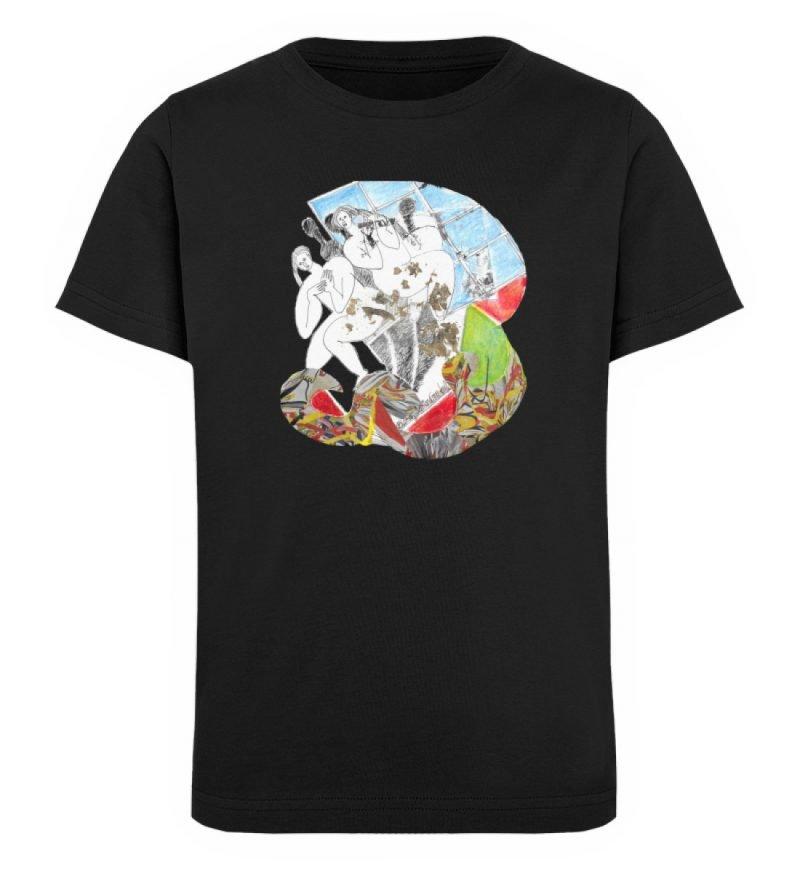 """Körperpflege"" von Silke Hoffmann - Kinder Organic T-Shirt-16"