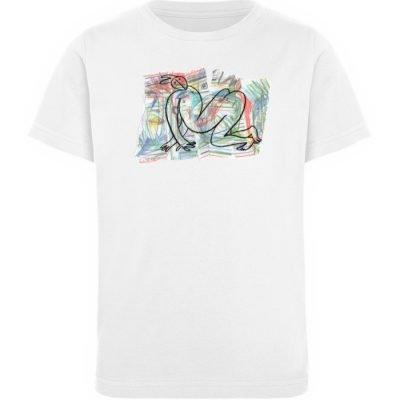 """""""Der gewendete Mann"""" von Lilith Lichtenb - Kinder Organic T-Shirt-3"""