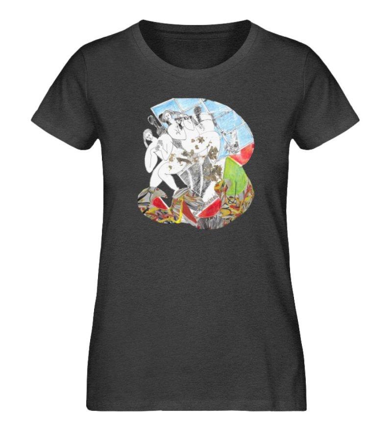 """""""Körperpflege"""" von Silke Hoffmann - Damen Premium Organic Shirt-6881"""