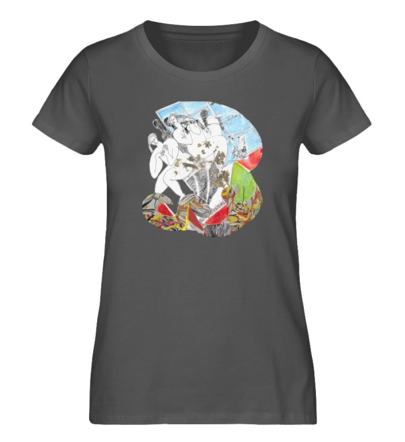"""""""Körperpflege"""" von Silke Hoffmann - Damen Premium Organic Shirt-6903"""