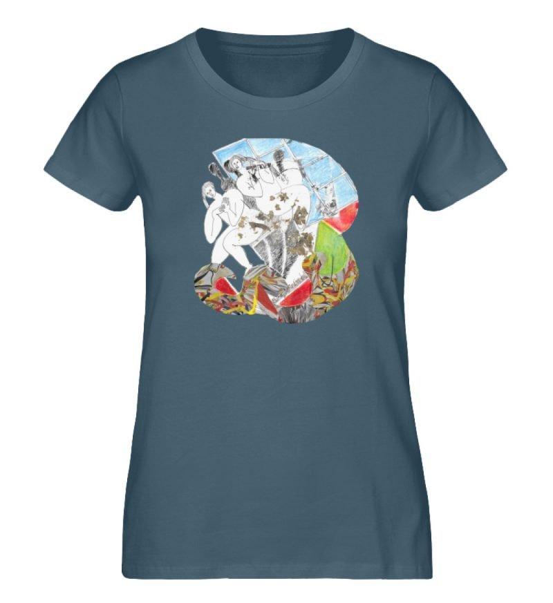 """""""Körperpflege"""" von Silke Hoffmann - Damen Premium Organic Shirt-6880"""