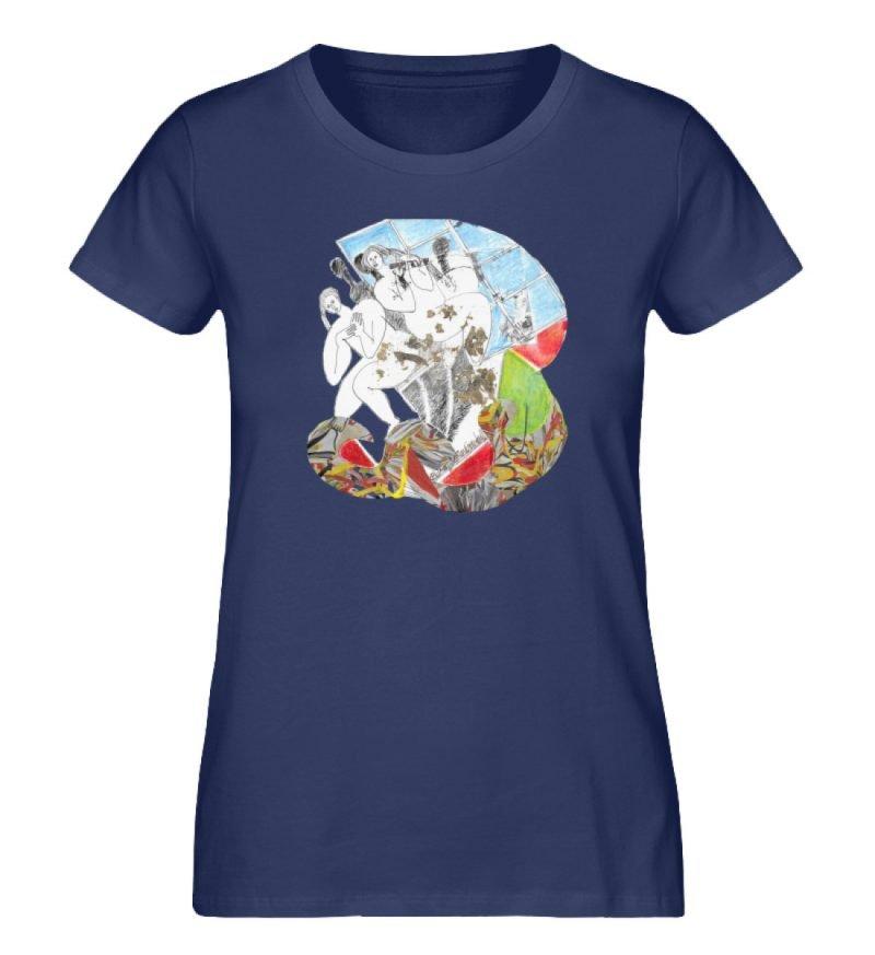 """""""Körperpflege"""" von Silke Hoffmann - Damen Premium Organic Shirt-6057"""