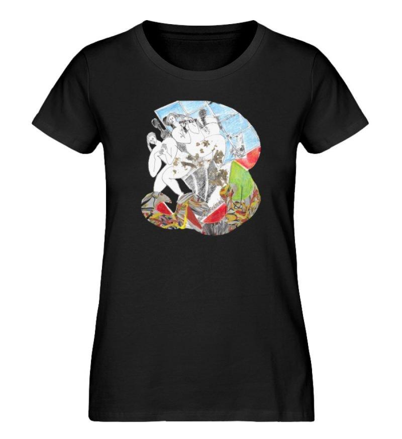 """""""Körperpflege"""" von Silke Hoffmann - Damen Premium Organic Shirt-16"""